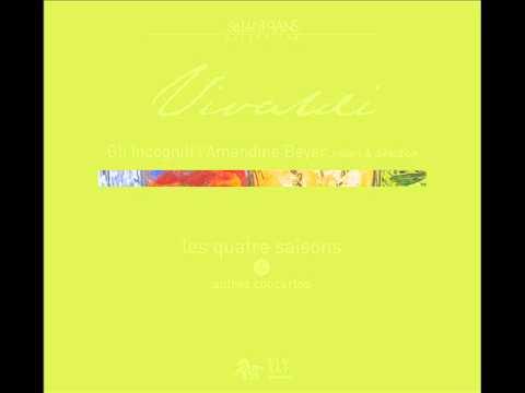 """VIVALDI - Four Seasons - Summer  """"L'estate"""" - Allegro Non Molto - Amandine Beyer & Gli Incogniti"""