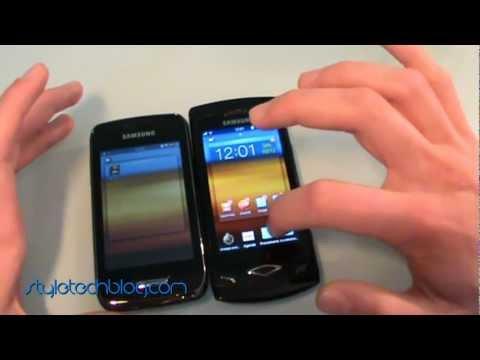 Confronto bada 2.0 tra Samsung Wave Y S5380D e Wave S8500_Style Tech Blog
