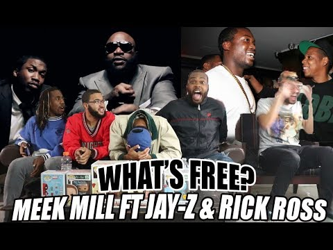 Best Jay-Z Verse?! Meek Mill ft Jay-Z & Rick Ross - What's Free? Reaction/Review