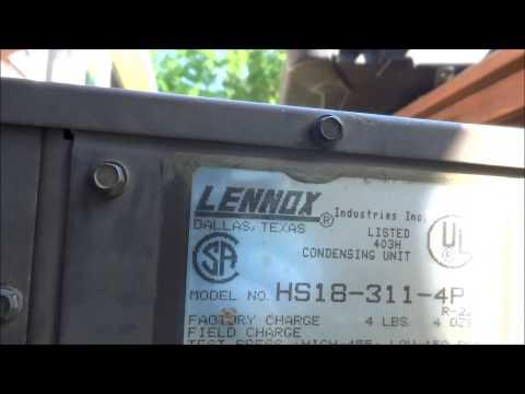 hvac : old lennox unit still running