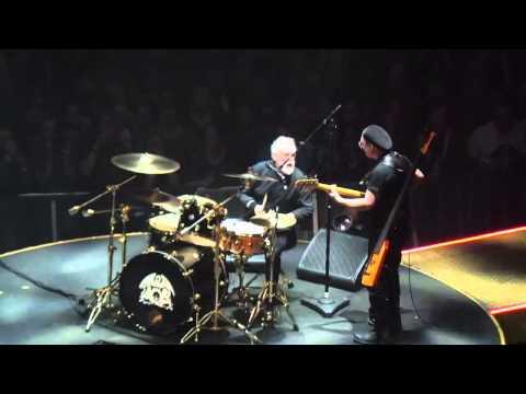 Roger Taylor-Neil Fairclough - Adam Lambert&Queen Concert - Leeds - 0/01/2015