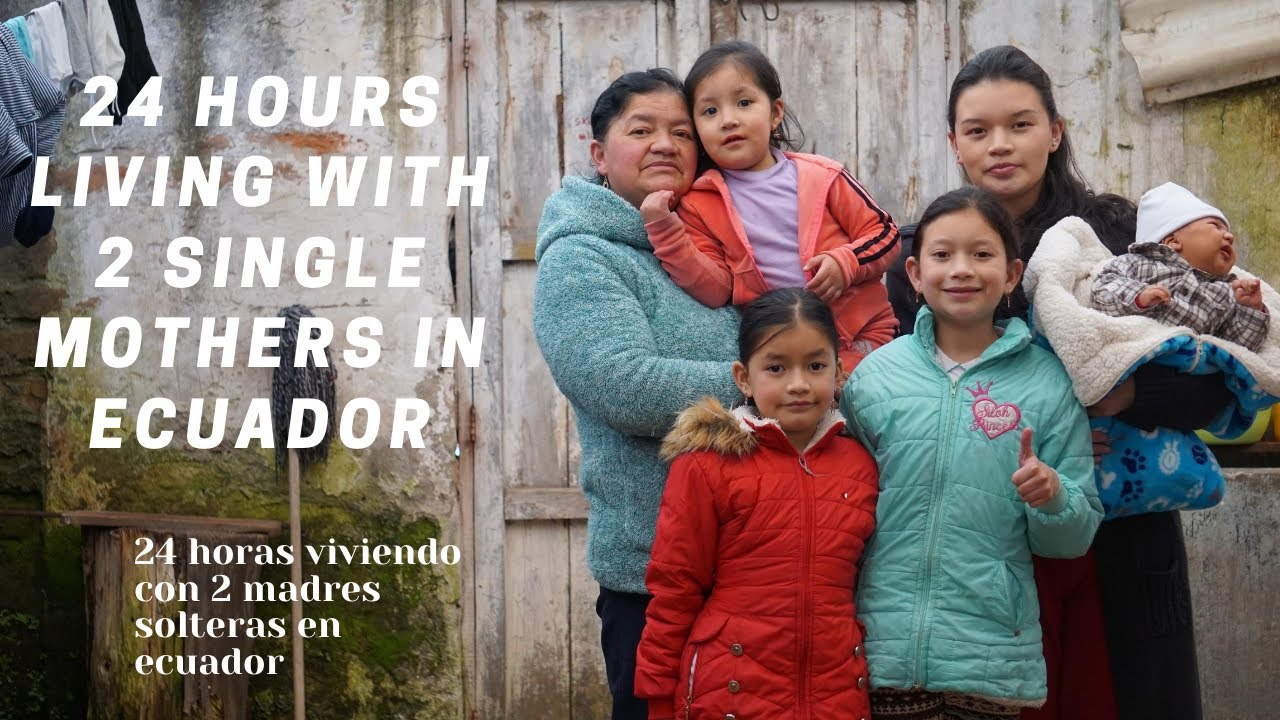 Living with two single mothers in South America for a day