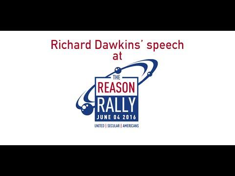Richard Dawkins 2016 Reason Rally Speech
