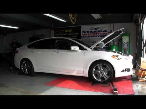 2013 Ford Fusion Stock Dyno Run - Steeda