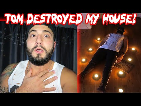 TOM DESTROYED MY HOUSE! (CAUGHT ON FILM) THE HUMAN OUIJA BOARD! | MOE SARGI