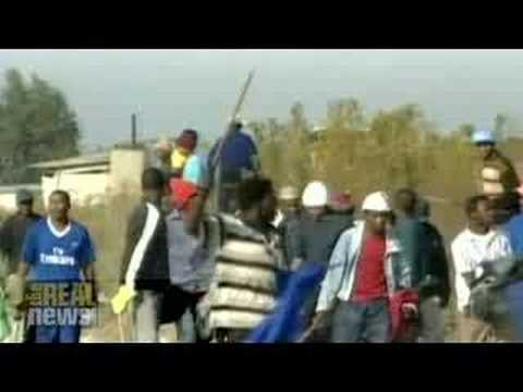 Xenophobic violence erupts in South Africa