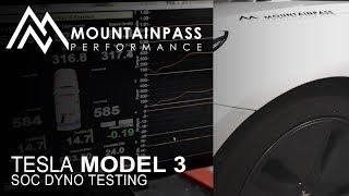 Dyno Testing The Tesla Model 3 At Various Battery SOC