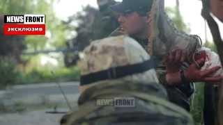 Видео жестоких боев за Марьинку