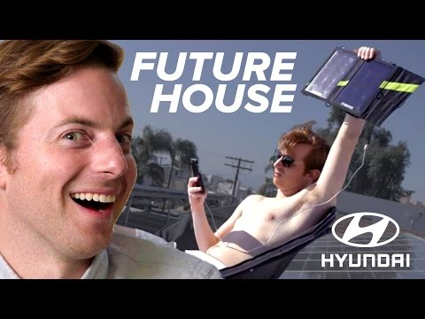 Thumbnail: Couple Lives In A Future House For A Week • Ned & Ariel