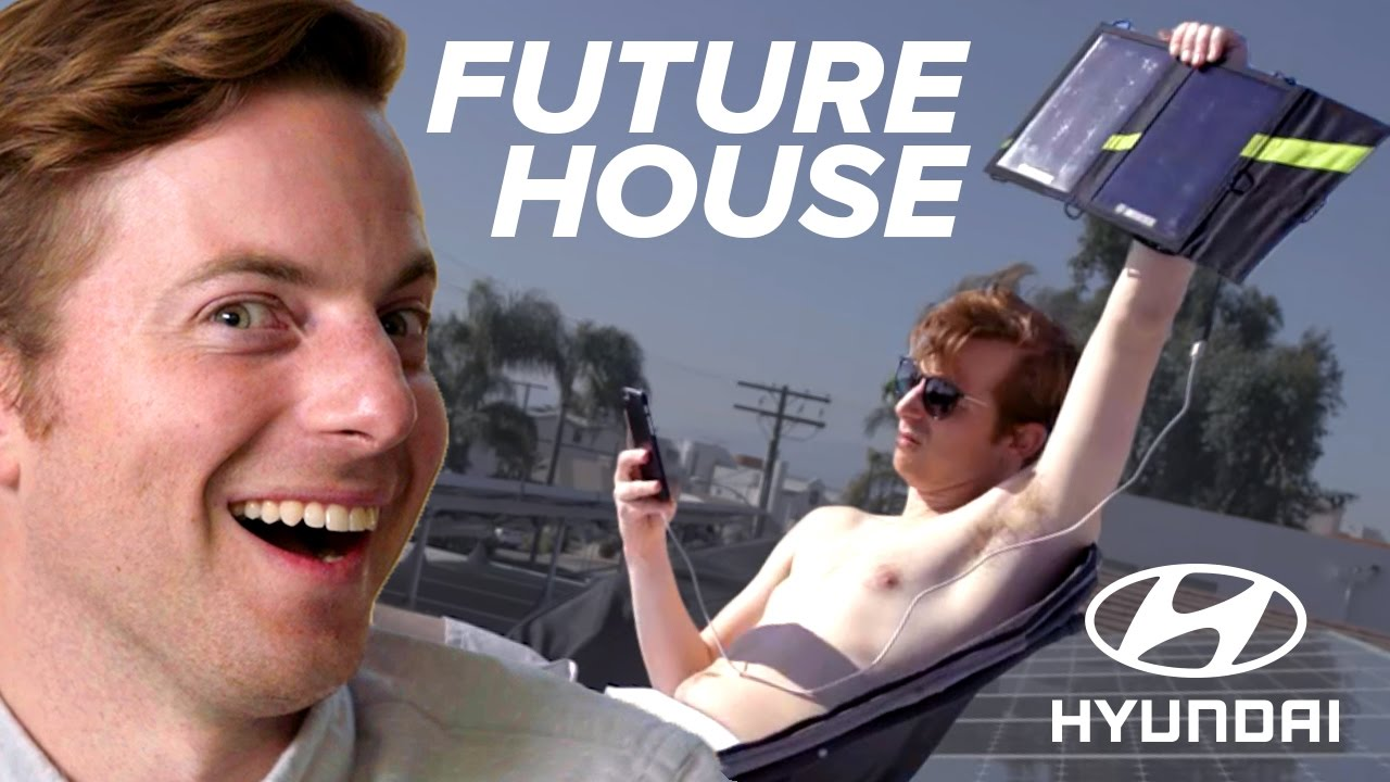 Couple Lives In A Future House For A Week • Ned & Ariel
