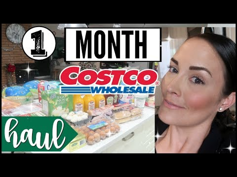 50b615c0be1 💥NEW 💥DECEMBER 2018 COSTCO BUDGET SHOP + MEAL PLAN WITH ME MONTHLY  GROCERY HAUL ○ COSTCO KETO HAUL - YouTube