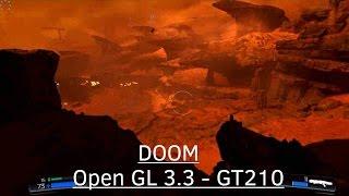 ✸ DOOM (2016) on Open GL 3.3 - NVidia GeForce GT210 - Pentium 4 630 3GHz