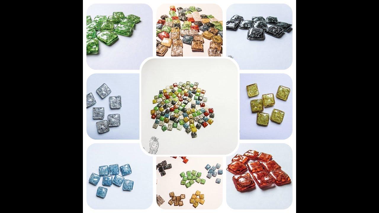 Reciclar CDs crear teselas para mosaicos y decoraciones