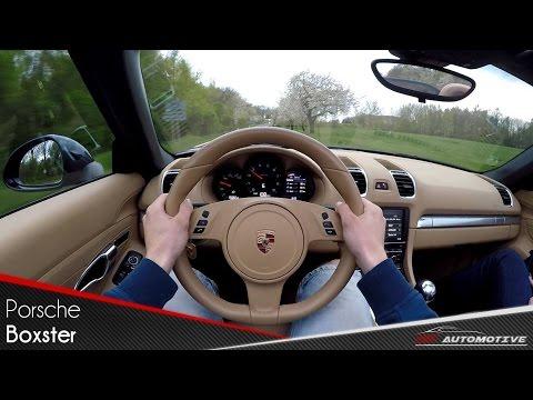 Porsche Boxster 981 POV Test Drive + Acceleration 0 - 200 km/h