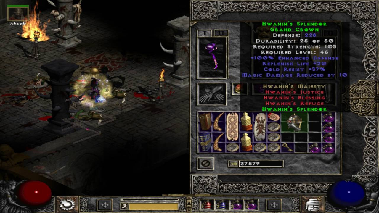 diablo 2 how to get socketed items