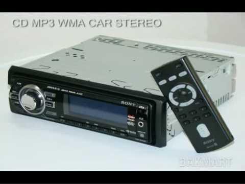 Sony Xplod Cdx-Gt520 Cd Mp3 WMA Car Stereo - Cdxgt520 - YouTube
