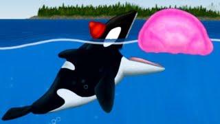 КАСАТКА и Кид #26 Гигантская рыба в Tasty Planet Forever съела Земля на веселом канале крутилкины