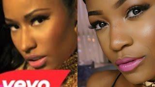 Nicki Minaj - Anaconda Official Music Video Inspired Makeup