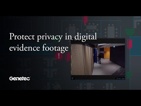 Protect everone's privacy on video evidence