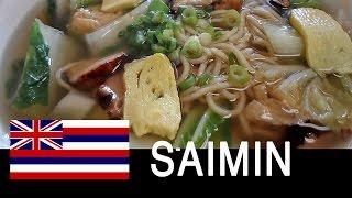 Saimin Date with my Mom at Shiro's Saimin | Hawaii Foods