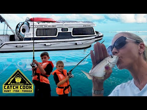 House boat Fishing - Glamping, Catch Cook, Knysna South Africa