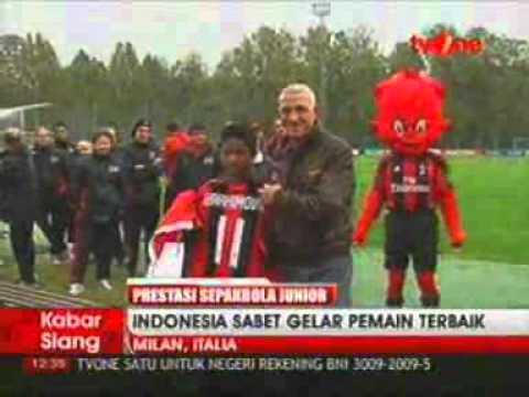 iProud - Indonesia Juarai Milan Junior Camp Day Tournament di Italia.flv
