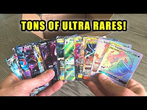 *BOX FULL OF ULTRA RARE POKEMON CARDS!* Opening SPECIAL BOX of Cards and Booster Packs!