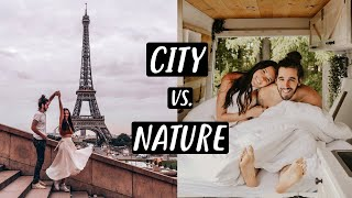 VAN LIFE FRANCE | Tiny House Living City vs. Nature