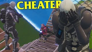 FORTNITE STREAMERS THINK I'M CHEATING