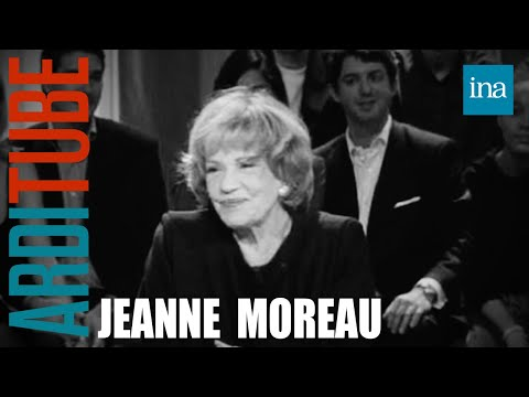 interview Jeanne Moreau - Archive INA