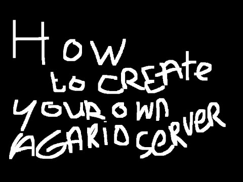 How To Create Your OWN Agario Server Within 3 Minutes!
