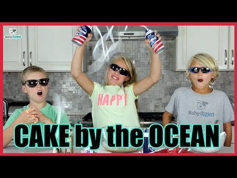 """DNCE """"CAKE BY THE OCEAN"""" PARODY Family Music Video Spoof Featuring GOLD SLIME"""