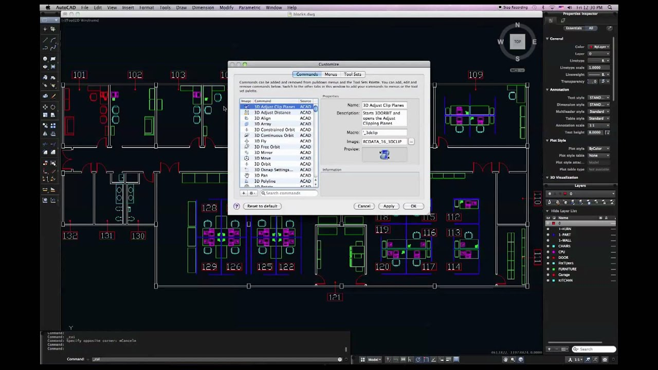 Autocad For Mac 2011 User Interface Customization Tutorial