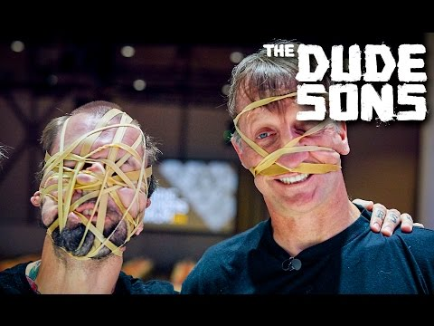 Skate Challenge With TONY HAWK! - The Dudesons