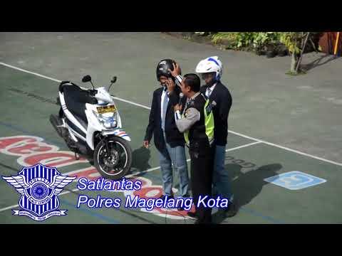 Sosialisasi Safety Riding di SMK N 2 Kota Magelang