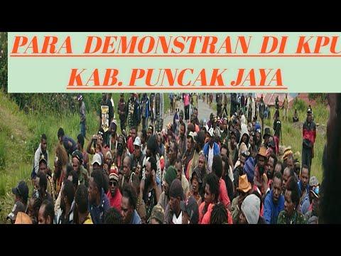 Demo KPU Kab. Puncak Jaya