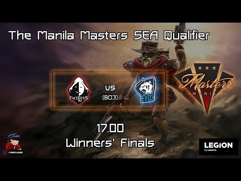 [THAI] The Manila Masters SEA Qualifier - Team Faceless vs Team EVOS # Game 1
