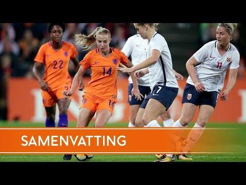 Highlights Nederland - Noorwegen (24/10/2017)