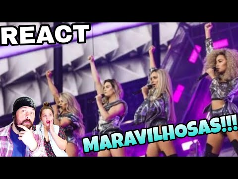 REAGINDO: LITTLE MIX - SHOUT TO MY EX BRITs REACT