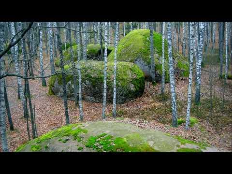 """""""Stone village"""".  Zhytomyr region . Village Rudnya-Zamyslovych"""