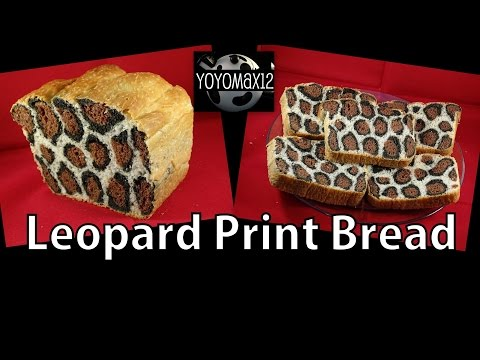 How to Make Leopard Print Bread - with yoyomax12