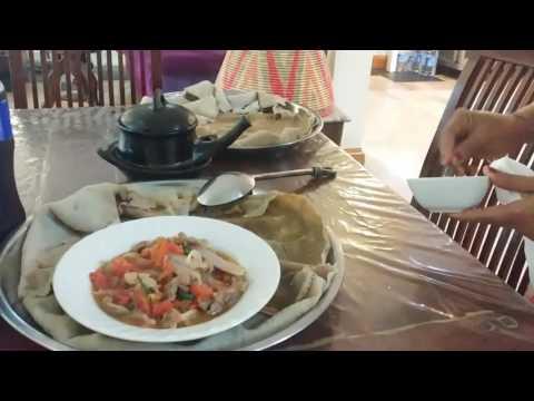 Lunch at Habesha Restaurant in Bangkok
