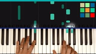 "How To Play ""See You Again"" Piano Tutorial"