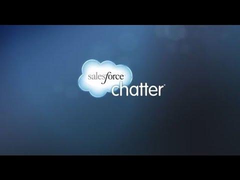 Démo et présentation de Salesforce Chatter