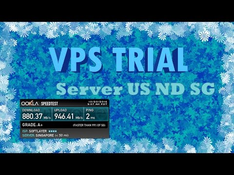 Free Vps Trial Server Singapore Netherland United States