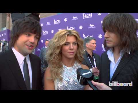 The Band Perry: 2013 ACM Awards Red Carpet