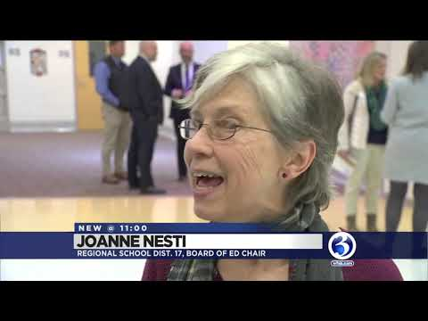Video: Parents protest decision to close Haddam Elementary School