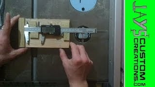 Micro Fence Adjustment With Scraps and a Digital Caliper - 033