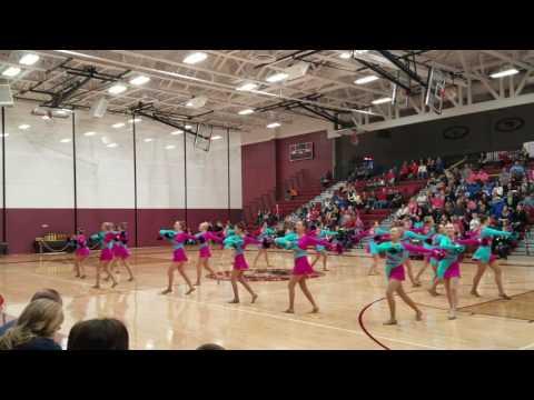 Ava. Menominee high school dance competition.  12-3-2016