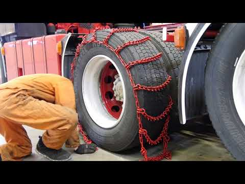 Winter Trucking - The Preparation! Chains, tyres and more! (ENG Subtitles)